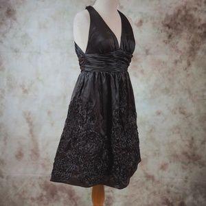 Adrianna Papell - Halter Cocktail Midi Dress - 6